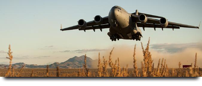 Military Bird Scaring Banner