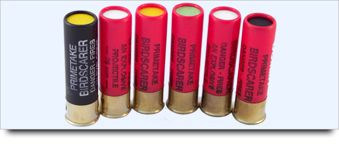 signal pistol cartridges selection