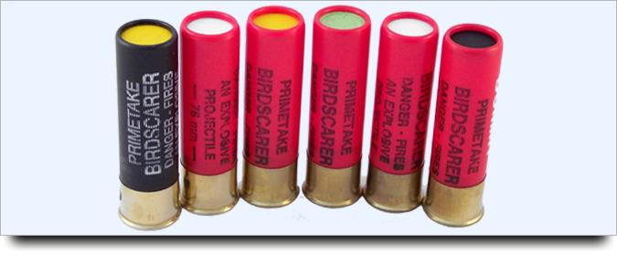 signal pistol cartridges selection